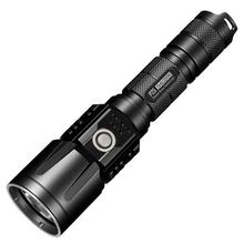 NITECORE P25BK Precise Smilodon Rechargeable 18650 LED Flashlight, Black, 860 Max Lumens