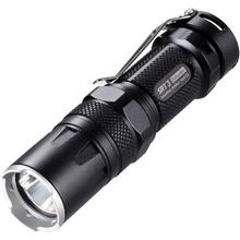 NITECORE SmartRing Tactical SRT3 Defender AA/CR123 LED Flashlight, Black, 550 Max Lumens