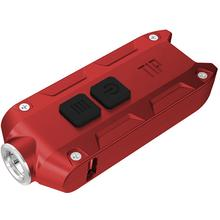 NITECORE T-Series Tip Rechargeable Keychain LED Flashlight, Red, 360 Max Lumens