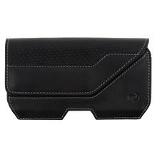 Nite Ize ClipCase Executive Universal Rugged Holster, Black Leather, L