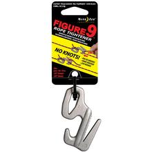 Nite Ize Figure 9 Large Rope Tightener, Silver, Single Pack (F9L-02-09)