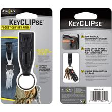 Nite Ize KeyCLIPse Pocket Clip Key Ring (KSLC-01-R7)