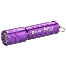 Olight i3E Purple Keychain LED Flashlight, 90 Max Lumens (1 x AAA)