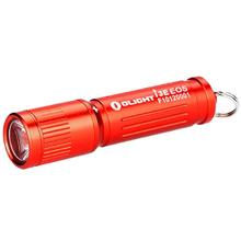 Olight i3E Red Keychain LED Flashlight, 90 Max Lumens (1 x AAA)