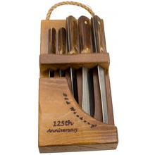 Old Hickory 125th Anniversary 5 Piece Cutlery Set with Knife Block