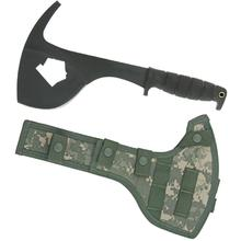 Ontario SP16 SPAX Firefighter Tool 8 inch Carbon Steel Blade, FB/UC Sheath