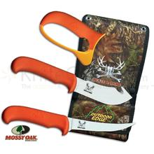 Outdoor Edge Blaze n' Bone Hunter's Combo Set with Mossy Oak Nylon Pouch