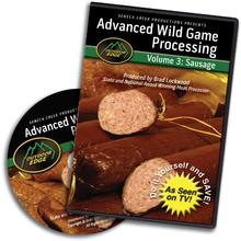 Outdoor Edge DVD Volume 3: Advanced Sausage Processing
