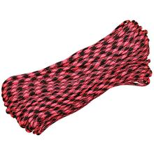 550 Paracord, Rosa Noche (Pink and Black), 100 Feet