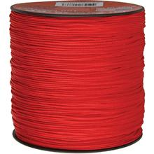 550 Micro Cord, Red, Nylon Braided, 1,000 Feet x 1.18 mm
