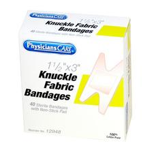 PhysiciansCare Brand Knuckle Bandage - 40/box
