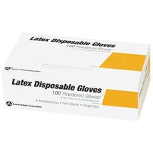 PhysiciansCare Brand Latex Gloves, Powder Free - Large, 100/box