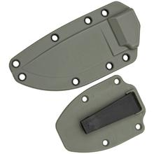 ESEE Knives ESEE-3 Molded Sheath with Clip Plate, Foliage Green