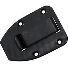 ESEE Knives ESEE-3/4 Molded Sheath Clip Plate, Black