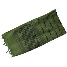 Red Rock Outdoor Gear Shemagh Head Wrap, Olive Drab/Black M16