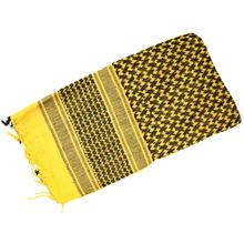 Red Rock Outdoor Gear Shemagh Head Wrap, Yellow/Black