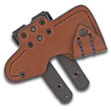 RMJ Tactical Leather Sheath for the Jenny Wren Tomahawk, Sheath Only
