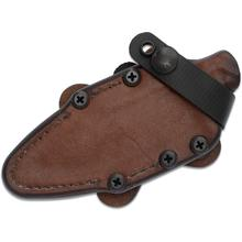 RMJ Tactical Brown Leather Sheath for the UCAP, Sheath Only