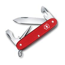 Victorinox Swiss Army Pioneer Alox Berry Red Limited Edition 2018 Multi-Tool, 3.5 inch Closed