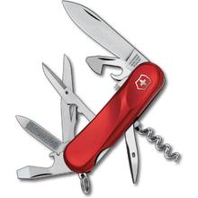 Victorinox Swiss Army 2.3903.SE Locking Evolution S14 Multi-Tool 3-3/8 inch Red Handles
