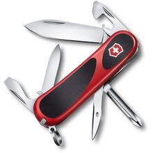 Victorinox Swiss Army EvoGrip 11 Multi-Tool, Red with Black Rubber Inserts, 3.34 inch Closed