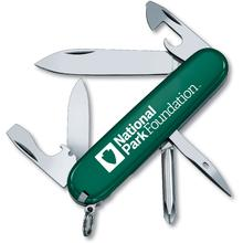 Victorinox Swiss Army Green National Park Foundation Tinker Multi-Tool, 3.58 inch Closed