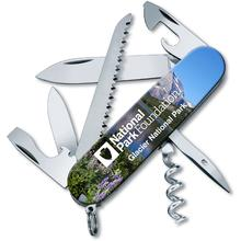 Victorinox Swiss Army Glacier National Park Foundation Camper Multi-Tool 3.5 inch Closed