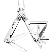 SOG S66N PowerAssist Multi-Tool with Assisted Blades, Satin, Nylon Sheath