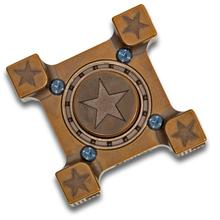 Steel Flame Custom Star Ring Spin Hand Spinner