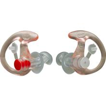 SureFire EP3 Sonic Defender Earplugs, Small, Clear, 1 Pair