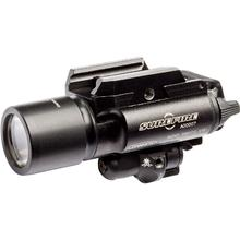 SureFire X400 Ultra — Red Laser LED Handgun / Long Gun WeaponLight with Laser, 500 Lumens (X400U-A-RD)