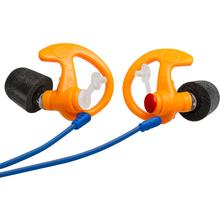 SureFire EP7 Sonic Defenders Ultra Filtered Foam-Tipped Earplugs, Large, 1 Pair, Orange