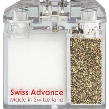 Swiss Advance Arcto 2.3 inch x 2.3 inch Salt and Pepper Container with Spices Included