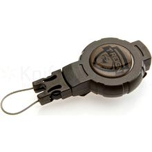 T-REIGN Small Retractable Gear Tether, 24 inch Kevlar Cord, Clip Attachment
