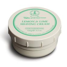Taylor of Old Bond Street Lemon & Lime Shaving Cream 5.3 oz (150g)