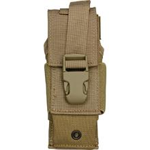 Timberline Tactical Ballistic Nylon Dual Carry MOLLE Sheath, Coyote Tan