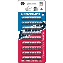 Trumark Slingshot Ammo 5/16 inch, Polished Steel (72 Count)