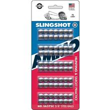Trumark Slingshot Ammo 3/8 inch, Polished Steel (70 Count)