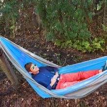 UST Ultimate Survival SlothCloth Hammock 1.0, Blue/Gray