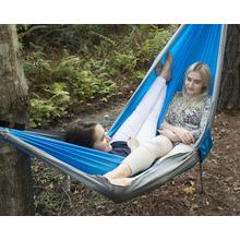 UST Ultimate Survival SlothCloth Hammock 2.0, Blue/Gray
