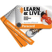 UST Ultimate Survival Learn & Live Paracord Cards