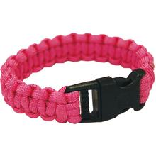 UST Ultimate Survival Paracord Survival Bracelet, Fuchsia