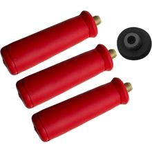 WASP Injection Knife Max Adapter Kit, Red, Includes 3 Disposable Tapered Handles with 24g Cartridge