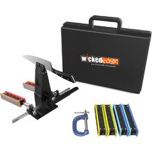 Wicked Edge WE230 Field and Sport Pro Micro-Adjustable Sharpener with Cam-Lock Vise - 2017 Model