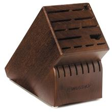 Wusthof 22-Slot Walnut Knife Block