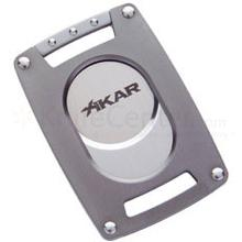 XIKAR Xi Ultra Slim Cigar Cutter - Gunmetal Gray