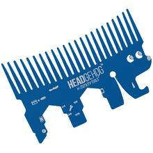 Zootility Tools Headgehog 3.25 inch x 2 inch Stainless Steel Utility Tool, Royal Blue