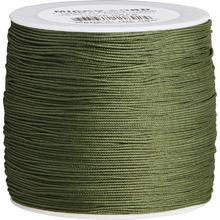550 Micro Cord, OD Green, Nylon Braided, 1000 Feet x 1.12 mm