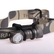 ZebraLight H32F CR123 Floody Headlamp, XM-L2 Cool White LED, 456 Max Lumens