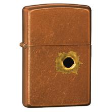 Zippo Bullet Hole, Toffee Classic